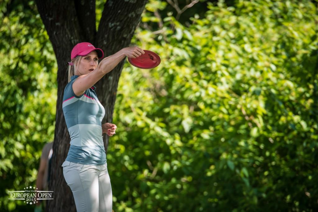 Allen oli naisten ylivoimainen ykkönen. Kuva: Innova Champion Europe