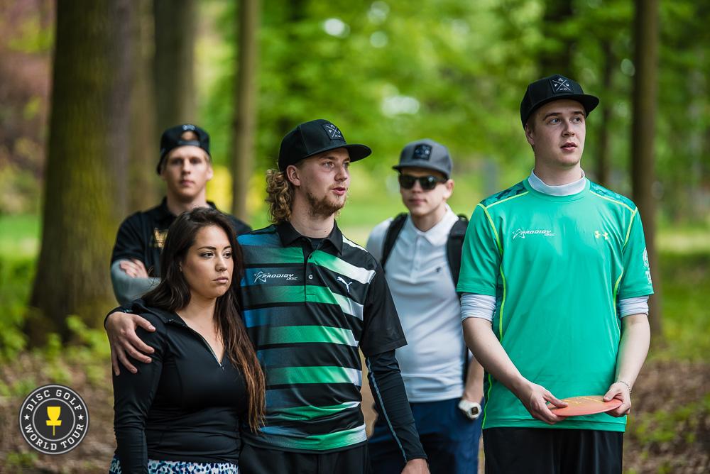 Seppo Paju ja Lassi Hakulinen johdattivat kasan suomalaisia USDGC:hen. Kuva: Eino Ansio / Disc Golf World Tourr