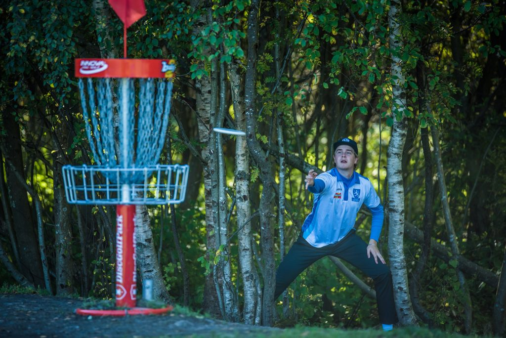 Lassi Hakulinen oli päivän kuumin pelaaja. Kuva: Eino Ansio / EDGC2016