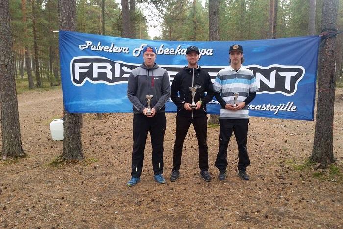 Kankaanpään kärkikolmikko jatkaa kauttaan United States Disc Golf Championshipissä.