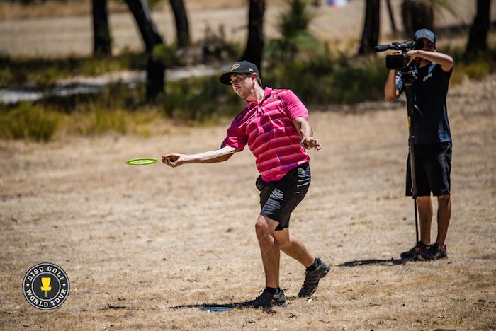 Paul McBeth paransi otteitaan kilpailun edetessä sijoittuen lopulta kolmanneksi. Kuva: Eino Ansio / DGWT.