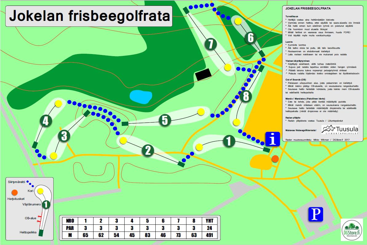 Tuusula Frisbeegolf