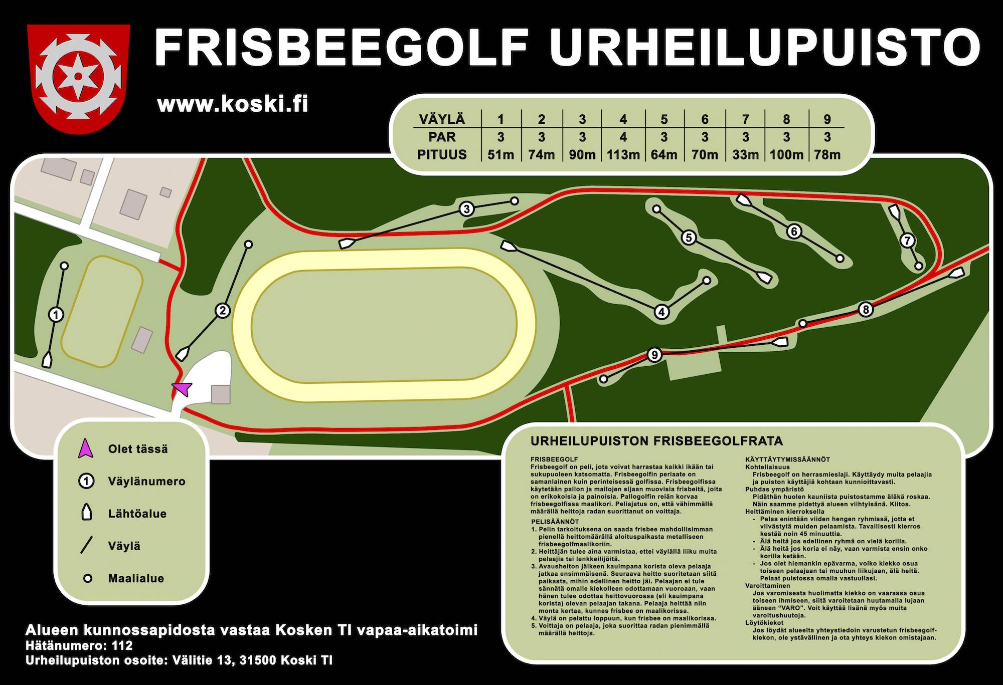 Murto Frisbeegolf