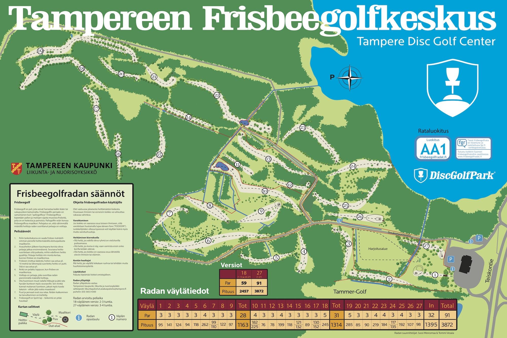 Tampereen Frisbeegolfkeskus